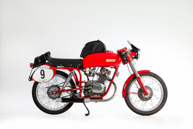 1957 Laverda 100 Sport Bialbero Production Racing Motorcycle Frame no. 571530 Engine no. obscured