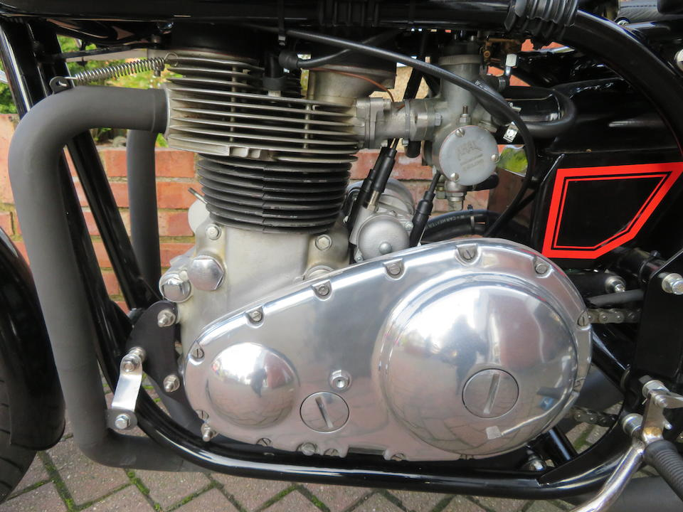 Norton Manx Matchless 650cc Racing Motorcycle Frame no. none Engine no. 59/G12L X0646