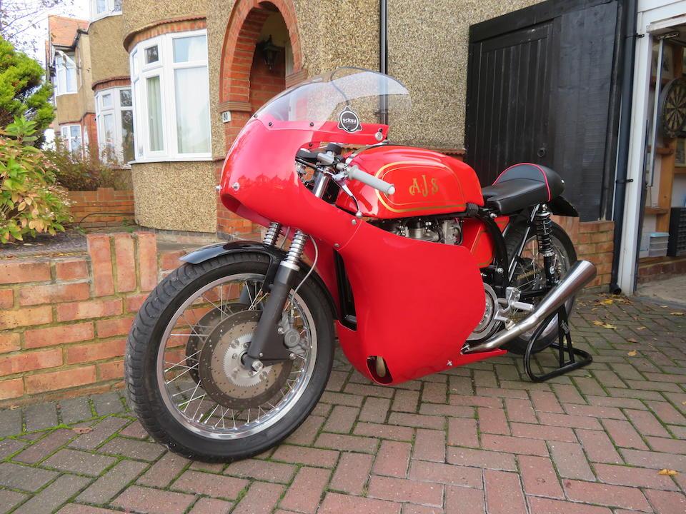 Norton Manx Nourish 750cc Racing Motorcycle Frame no. none Engine no. C69A46