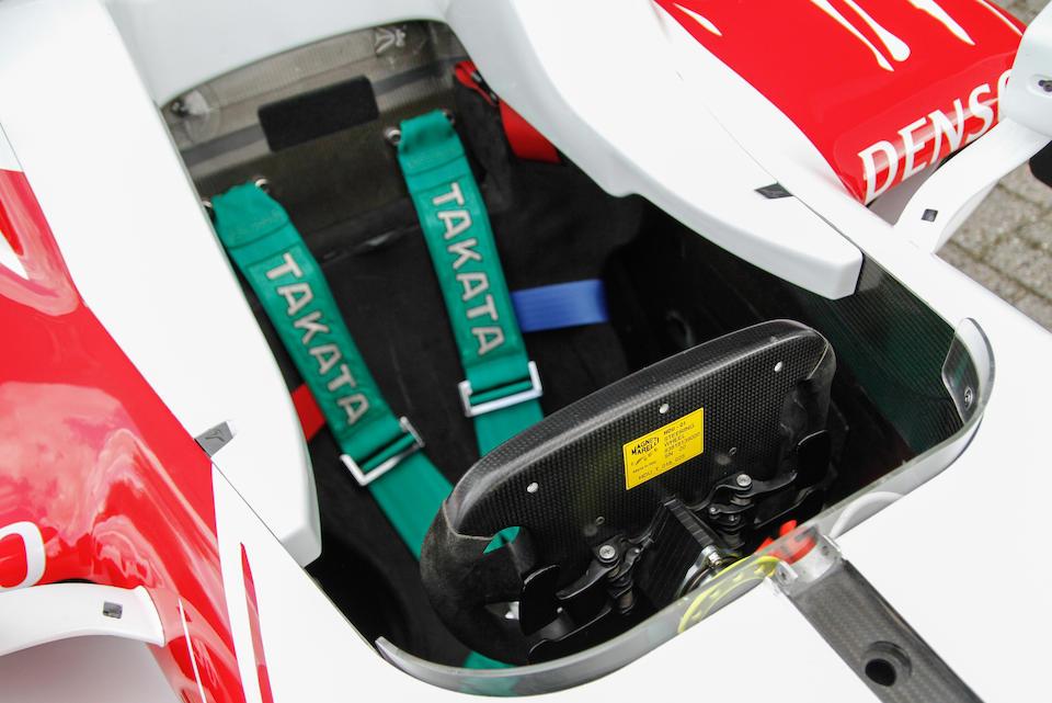 2008 Toyota  TF108 Formula 1  Chassis no. TF108-05