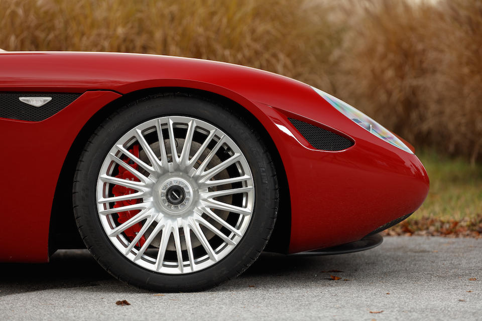 One of only five made,2016 Zagato Mostro Coupé  Chassis no. YA9VZ3S00F0169036