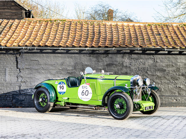 The ex-Dr Roth, W M 'Mike' Couper, Brooklands race-winning,1934 Talbot AV105 Brooklands Sports Racer  Chassis no. AV35499