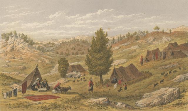 DAVIS (EDWIN JOHN) Life in Asiatic Turkey, Edward Stanford, 1879