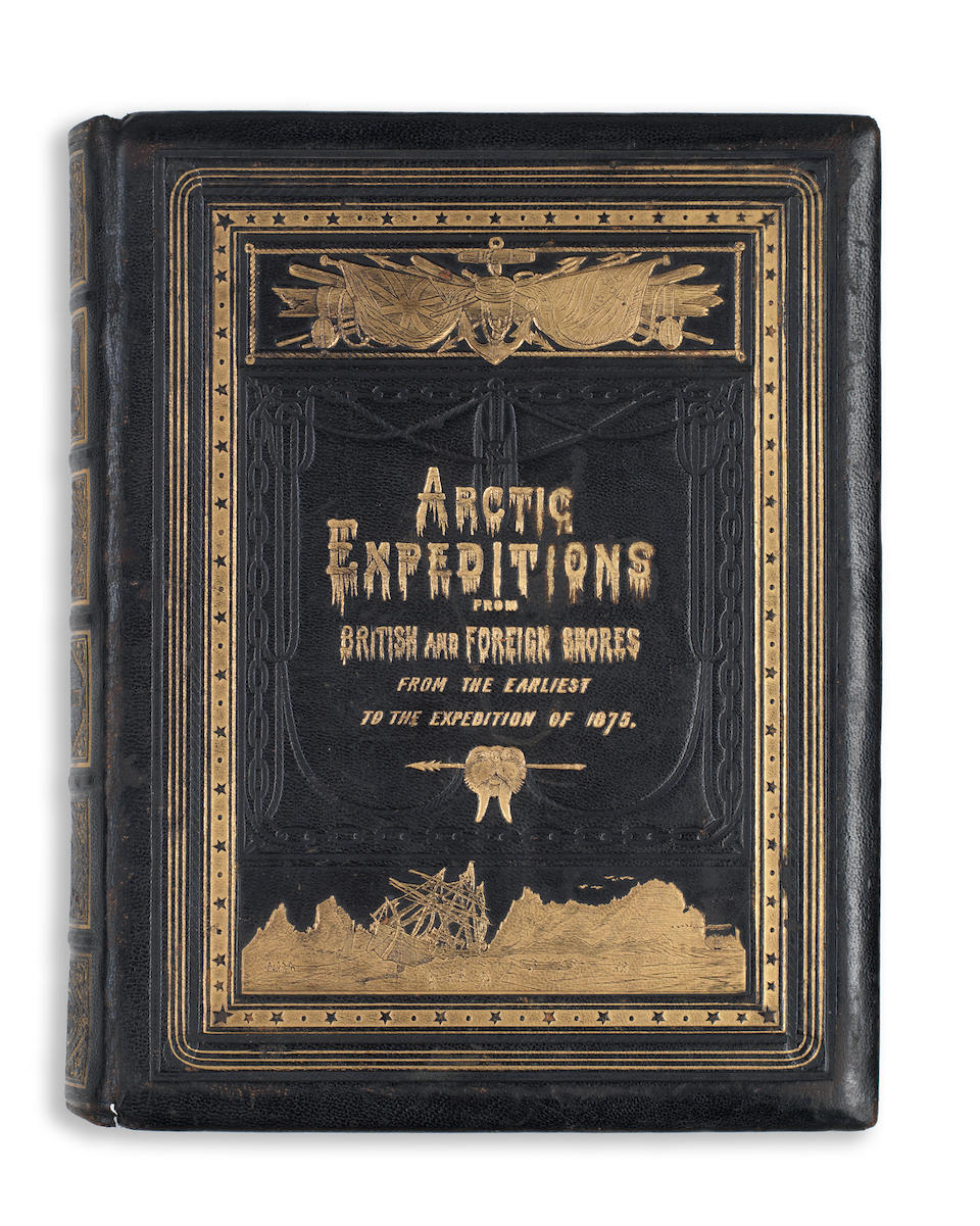 SMITH (DAVID MURRAY) Arctic Expeditions from British and Foreign Shores; from the Earliest Times to the Expedition of 1875-76, Glasgow, T. Liddell, 1877
