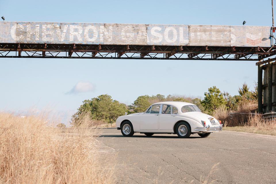 Ex-Bernard Consten; 1961 Tour de France Automobile Class-winning,1961 Jaguar Mk2 3.8-Litre  Chassis no. 217687