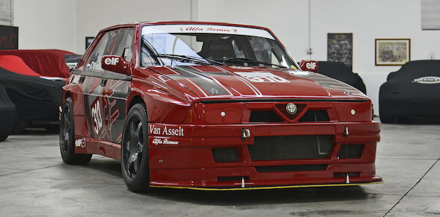 Ex-Bob van der Sluis, 1987 Alfa Romeo 75 Turbo Evoluzione A1 / IMSA Specification Chassis no.  33275601 / AR 026