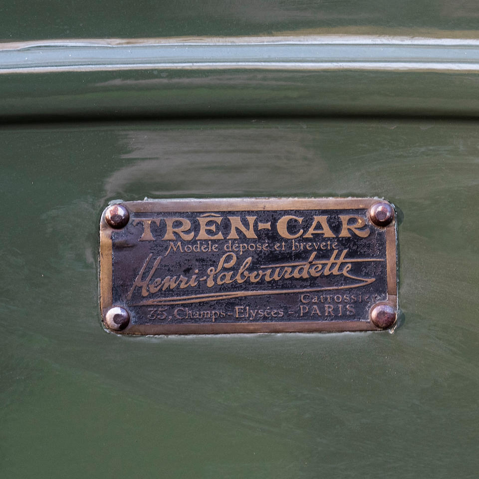c.1922  Trencar  Trailer by Labourdette