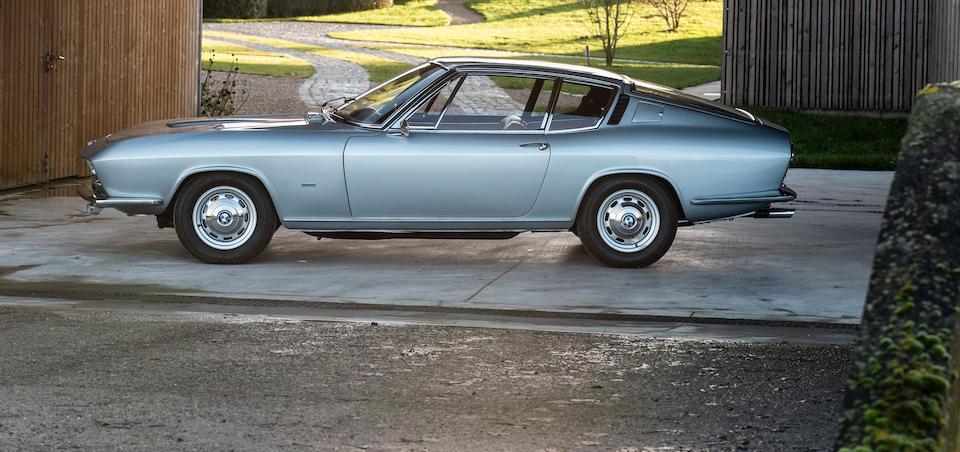 The Frankfurt, Paris, Geneva and Barcelona Motor Shows,1967 BMW-Glas  3000 V8 Fastback Coupé Prototype  Chassis no. V-1471