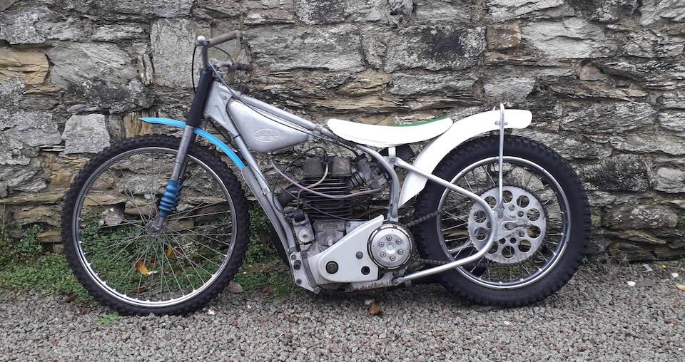 The ex-Václav Verner, c.1980 Jawa 498cc Type 895 Long-track Racing Motorcycle Frame no. 7 Engine no. K895-C-1478