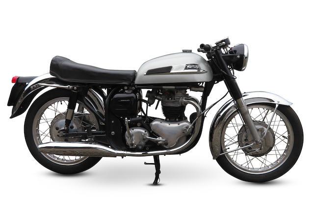 1967 Norton Dominator 650SS Frame no. 123113 Engine no. 123113