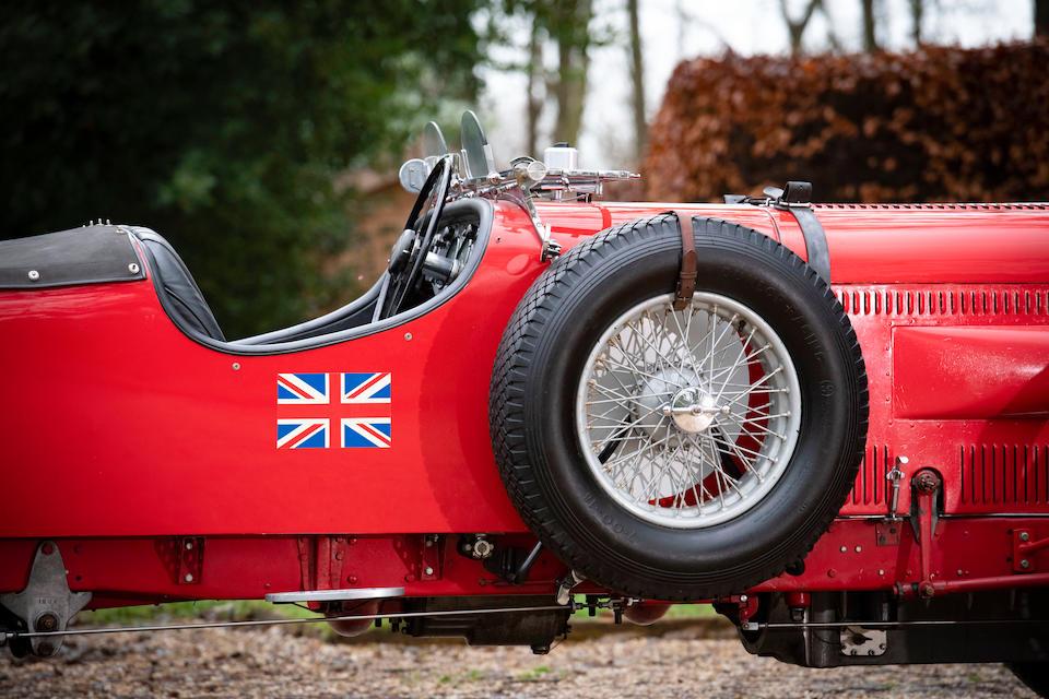 1936 Lagonda LG45 4½-Litre Fox & Nicholl Le Mans Team Car Replica  Chassis no. 12069