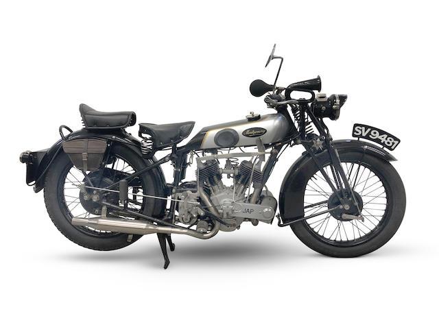 1928 Montgomery 680cc 'Twin Five' Frame no. 4391 Engine no. GT/W 75919
