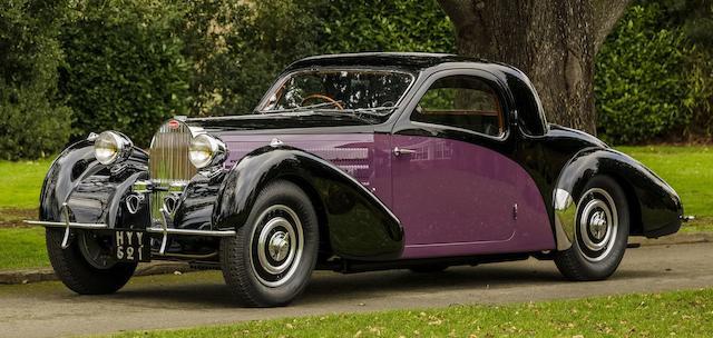1938 Bugatti Type 57 Atalante Coupé  Chassis no. 57633