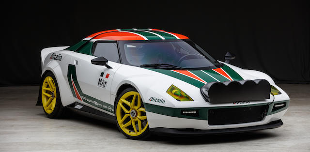 Number 1 of a limited production run of 25,2009/2019  MAT  New Stratos Coupé  Chassis no. ZFFKZ64B000166472
