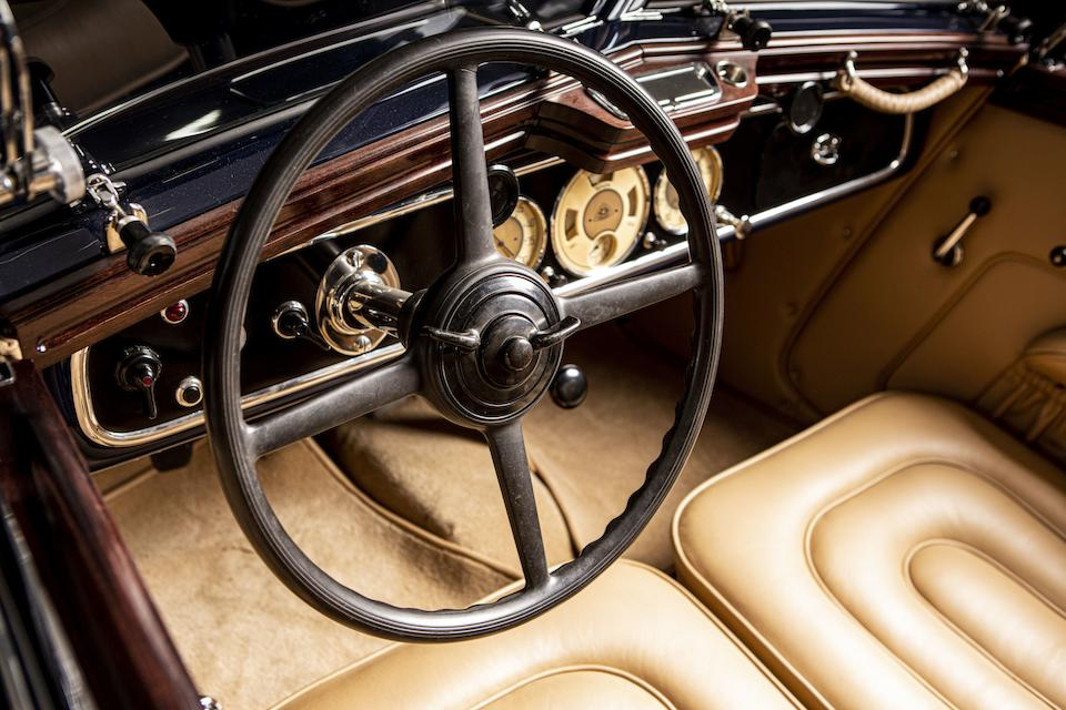 1937 Maybach SW38 Special Roadster   Chassis no. 1834 Engine no. 11294