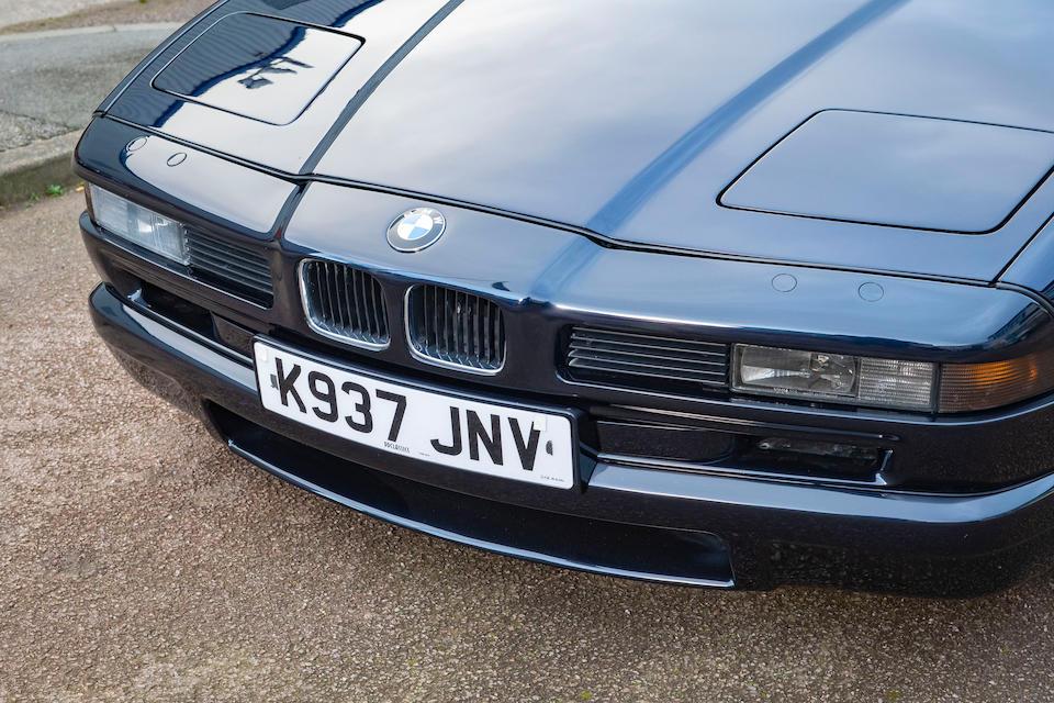 1993 BMW 850CSi Coupé  Chassis no. WBSEG91020CC00537