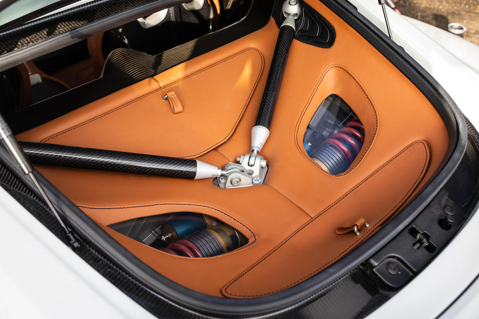 The sixth of only seven Q-Series Special Editions with only one owner and 300kms from new,2011 Aston Martin One-77 Q-Series Coupé  Chassis no. SCFGFXXX9BGS17728