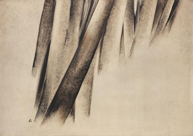 Sohrab Sepehri (Iran, 1928-1980) Untitled (from the Tree Trunk Series)