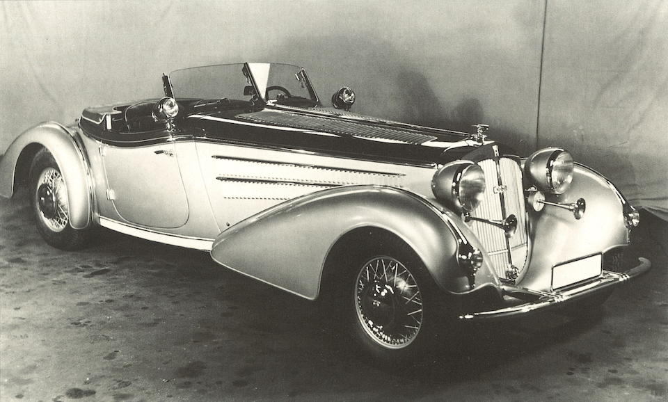 1937 Horch 853 Spezialroadster  Chassis no. 853177 Engine no. 851234