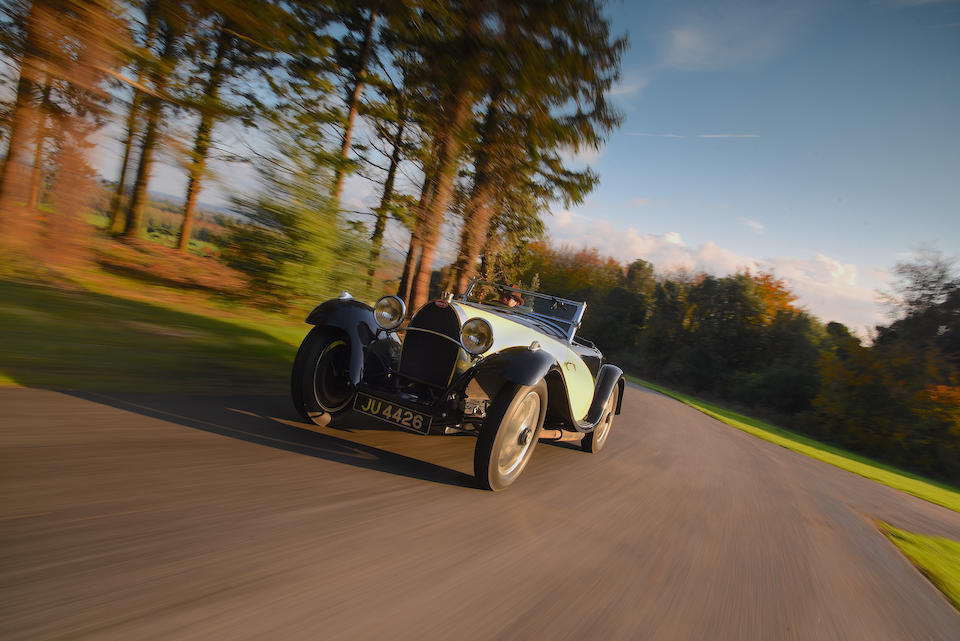 56 years in the ownership of Geoffrey St John and his Estate The 1932 ex-Le Comte Guy Bouriat/Louis Chiron Le Mans 24-Hours ,1931 Bugatti Type 55 Two-Seat Supersport  Chassis no. 55221 Engine no. 26 (ex-car 55223)