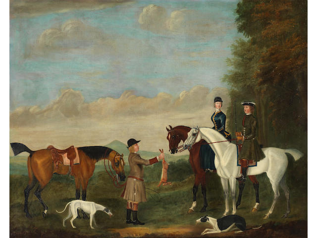 Circle of James Seymour (London 1702-1752) A coursing scene