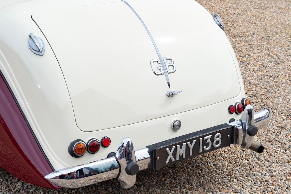 1952 Lagonda 2.6-Litre Drophead Coupé  Chassis no. LAG/50/450
