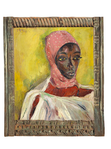 Irma Stern (South African, 1894-1966) Watussi Chief's Wife, 1946