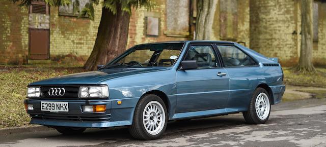 1988 Audi Quattro UR Turbo 10V  Chassis no. WAUZZZ85ZJA900577