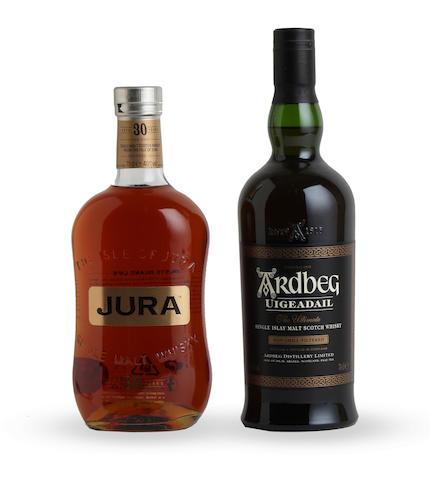 Jura-30 year old Ardbeg Uigeadail