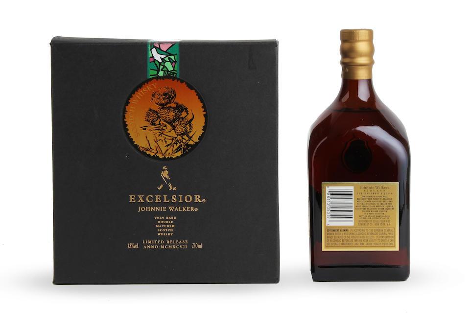 Johnnie Walker Excelsior (1)  Johnnie Walker Liqueur (1)