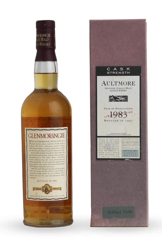 Aultmore-1983 Glenmorangie-1979