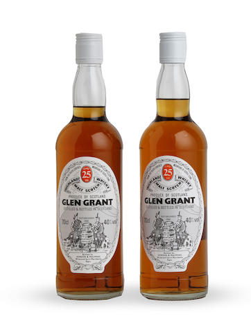 Glen Grant-25 year old (2)  Glen Grant-21 year old (2)
