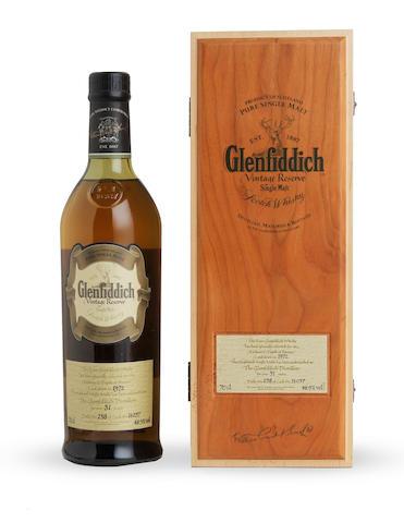 Glenfiddich Vintage Reserve-31 year old-1972