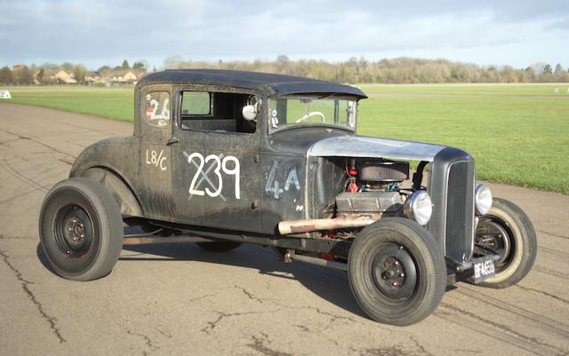 1930 Ford Model A 5 Window Coupe  Chassis no. A3283205
