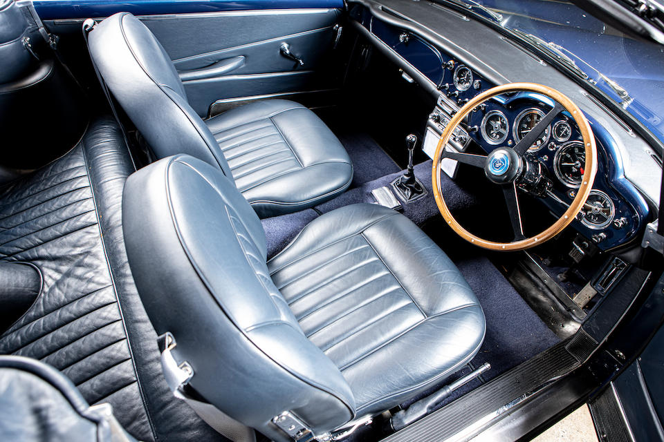One of 70 DB4 convertibles made and one of only five RHD Series V cars with the Vantage engine,1963 Aston Martin DB4 'Series 5' Vantage Convertible