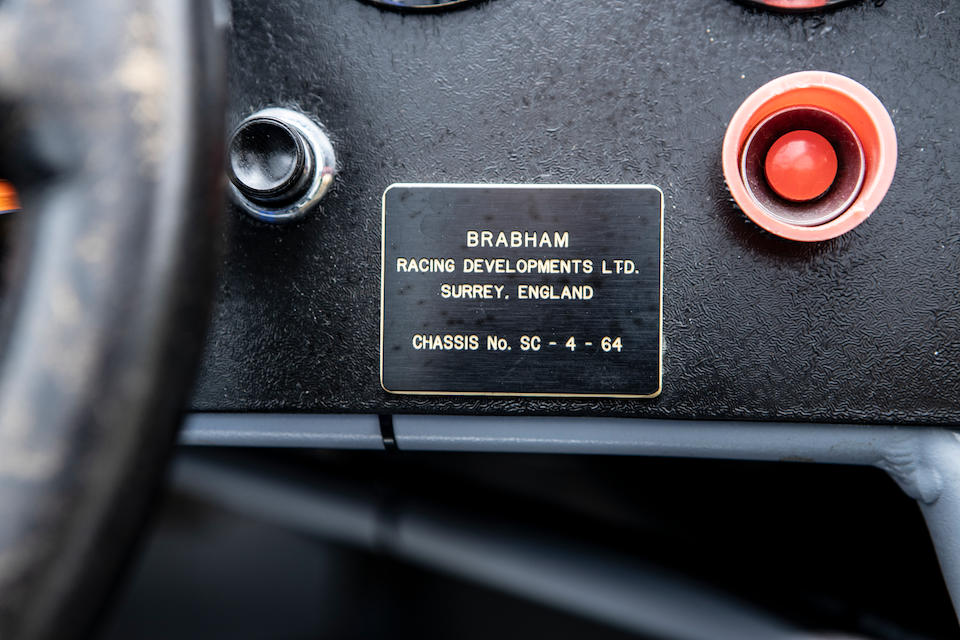 The ex-Tommy Hitchcock and period Goodwood entrant,1964 Brabham BT8 Sports-racing Prototype  Chassis no. SC-4-64