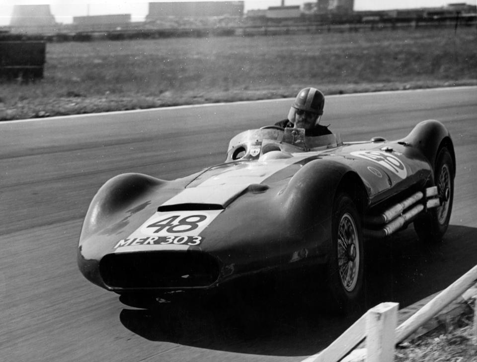 The ex-works, ex-Archie Scott Brown,1956 Lister-Maserati 2.0-Litre Sports-Racing Two-Seater  Chassis no. BHL 1