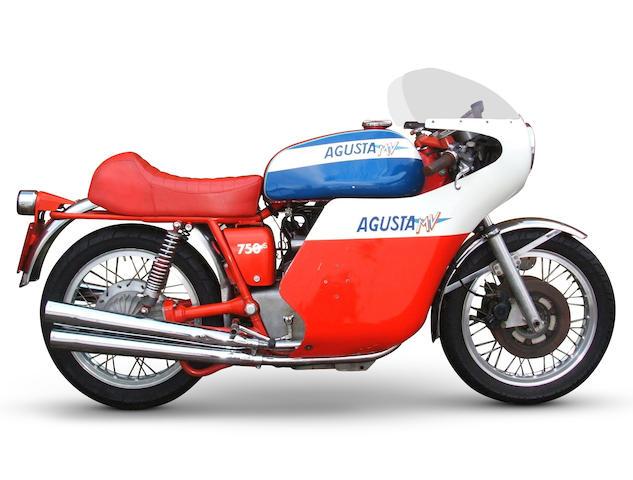1974 MV Agusta 750S Frame no. MV4C75 214 0367 Engine no. 214 0359