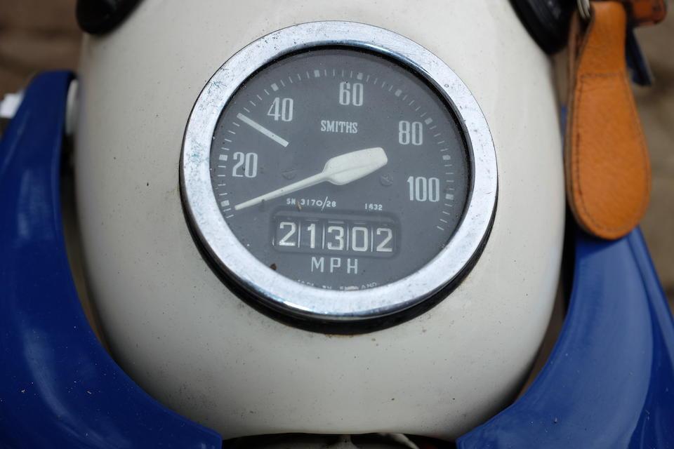 """1964 Ariel 199cc Arrow """"200""""  Frame no. T34589/H Engine no. T34589-H"""