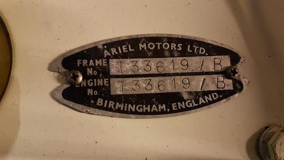 1964 Ariel 247cc Leader  Frame no. T33619/B Engine no. T33619-B
