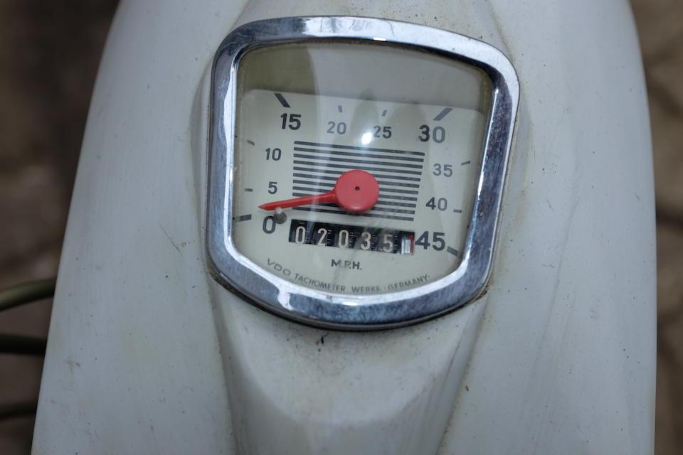 1965 NSU Quickly 49cc 23  Frame no. 1042598 Engine no. 1693351 (see text)