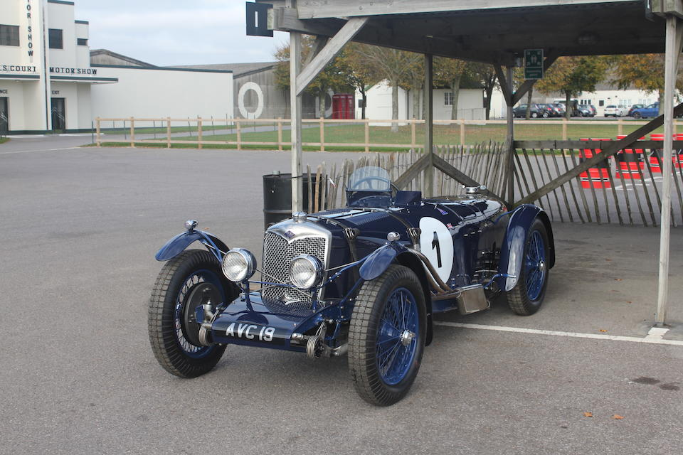 The ex-factory team car,1936 Riley 1½-Litre TT Sprite Competition Sports  Chassis no. 22T1750