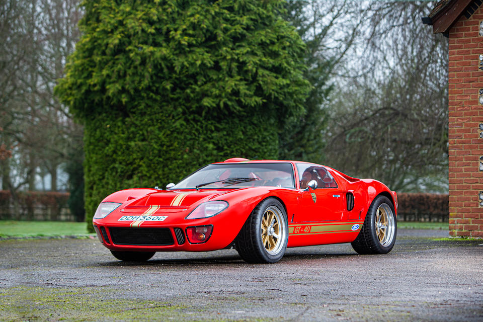 1989 Ford GT40 Replica by GTD  Chassis no. BA5EM45184