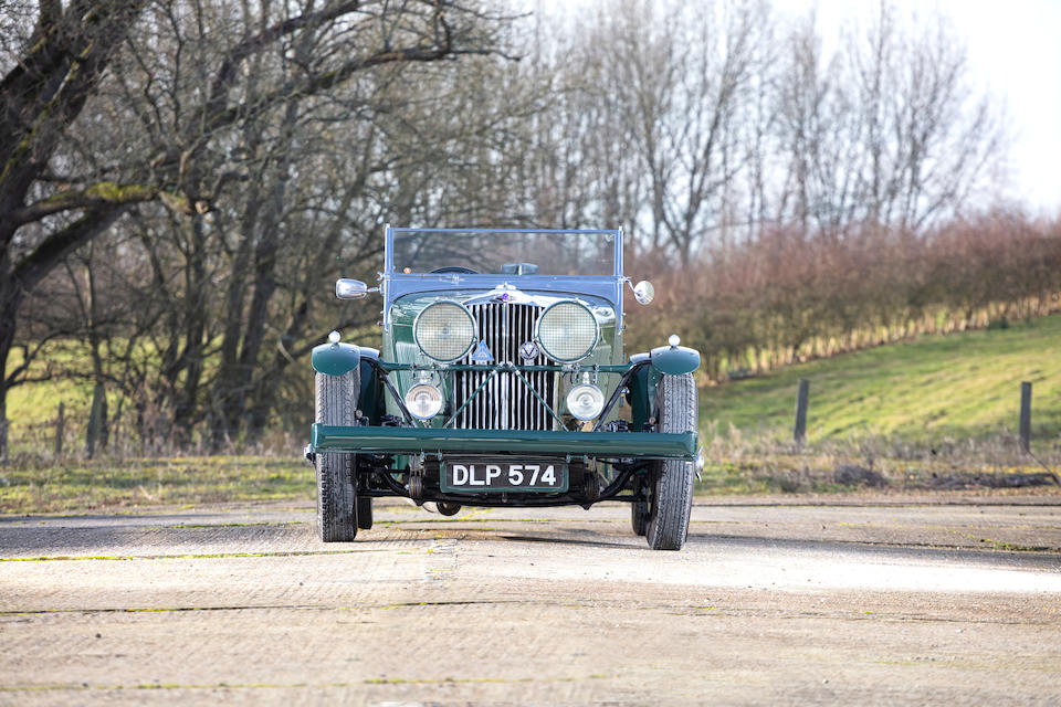 1937 Talbot BI105 Roadster  Chassis no. 4072