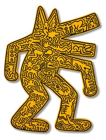 Keith Haring (American, 1958-1990) Dog 1986