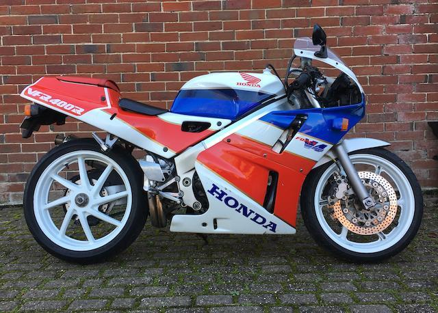 1990 Honda VFR400R Type NC30 Frame no. NC30 1013267 Engine no. NC13E - 1213288