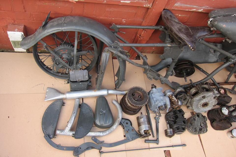 c.1942 Harley-Davidson 739cc WLA Type III Project Engine no. 42WLA17783