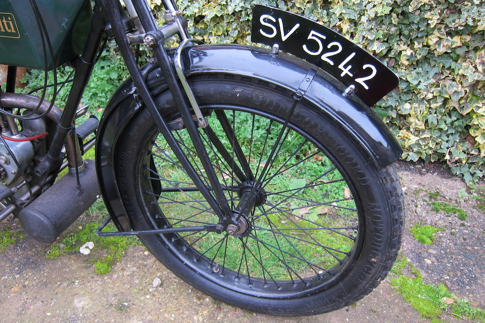 c.1920 Rudge 499cc Multi TT Model Frame no. 780466 Engine no. 21683