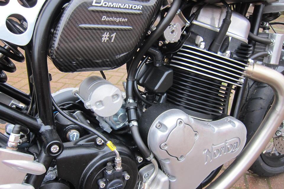 2017 Norton 961cc Dominator Donington Edition Frame no. SAYCNE010HY001301 Engine no. 501-1678