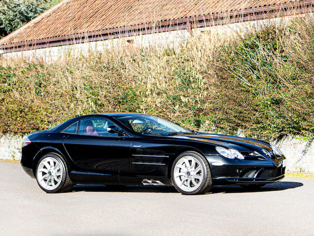 One owner from new,2005 Mercedes-Benz SLR McLaren Coupé  Chassis no. WDD 199 3761 M000524